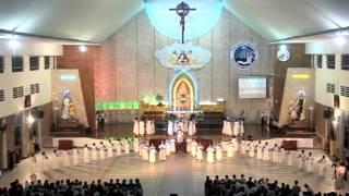Giáo xứ Tân Phú : Dâng hoa kính Mẹ trước ngày hành hương đến La Vang