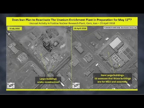 Unusual Activity Detected at Iranian Nuclear Enrichment Site