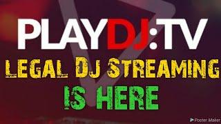 Legal DJ streaming with Playdj including money off voucher!