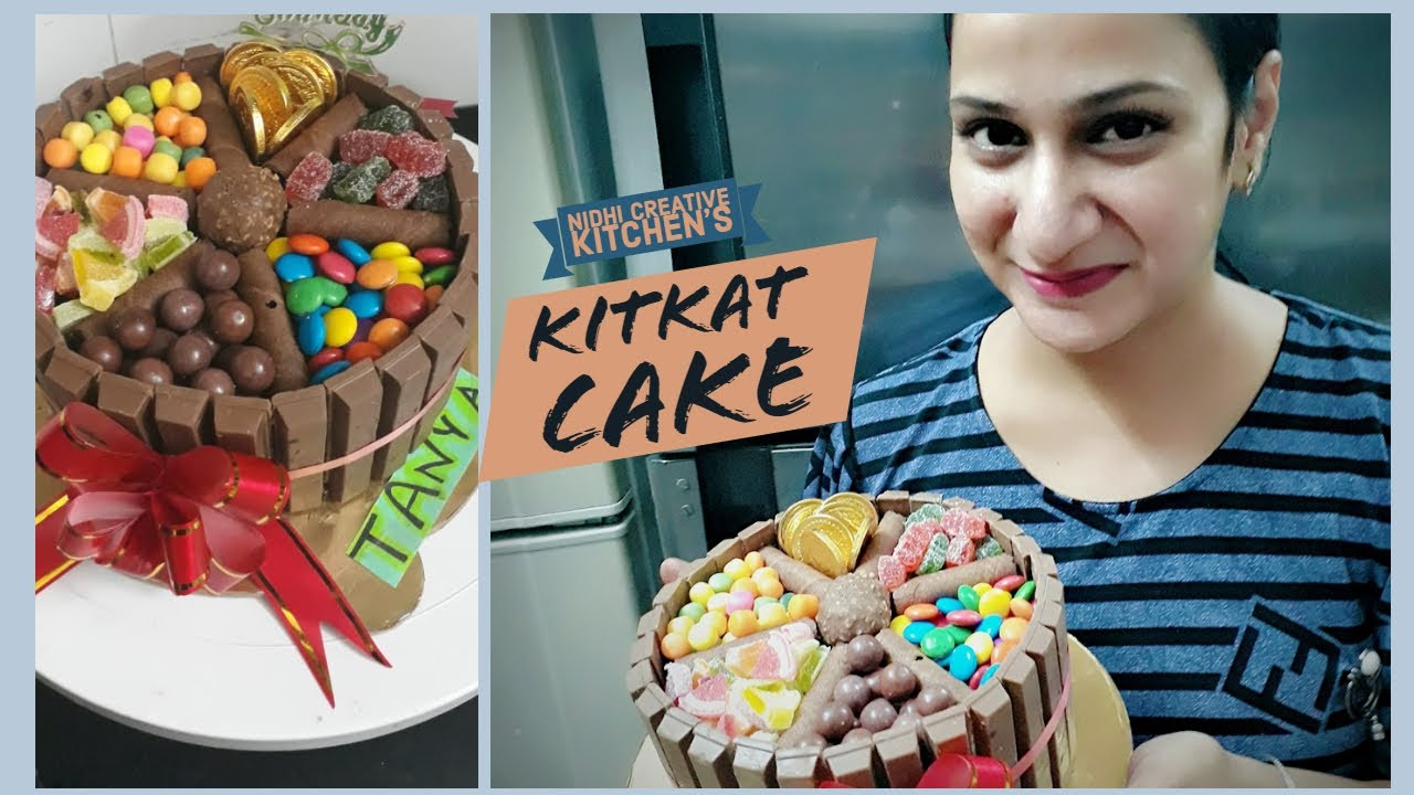 Download Kitkat / Candy Cake | Nidhi Creative Kitchen