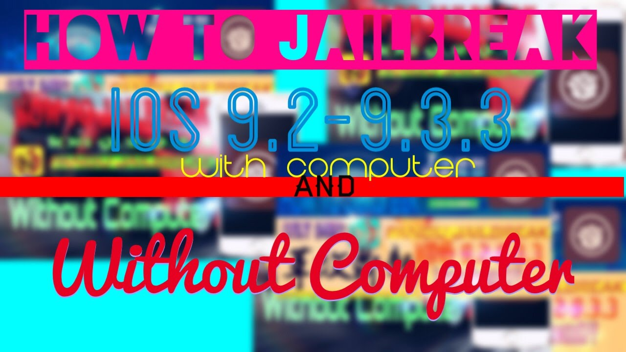 How To Jailbreak iOS 9 2-9 3 3 Using PPHelper {With Computer & Without  Computer}