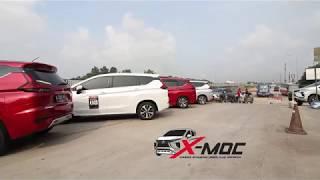 Touring perdana Xpander Mitsubishi Owner Club (XMOC) Bekasi