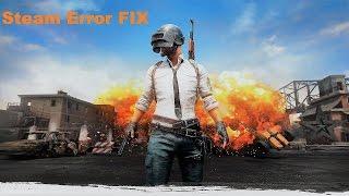 """Player Unknowns Battleground """"Failed to initialize STEAM"""" Error FIX"""