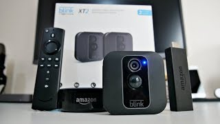 Blink XT2 Wireless Camera / Fire TV Stick Voice Control Setup / Amazon Alexa