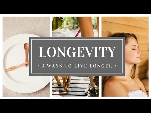 3 Best Secrets – How To Live Longer (DO THIS!!)