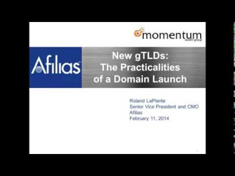 Webinar: The Practicalities of a New Domain Launch