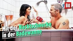 Nacktinterview mit Micaela Schäfer in der Badewanne | Aus dem BILD-Archiv 😂