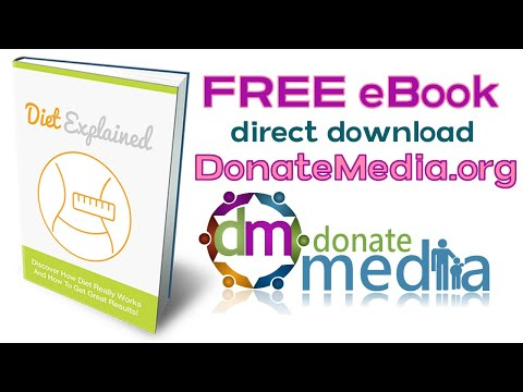 ♥ Diet Explained FREE eBook - Read while you listen to the relaxing 5 Minute Meditation Video Music