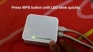 tutorial Reset OpenWrt Password on TP-LINK MR3020 (Failsafe Mode)