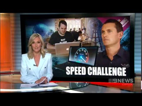 Lighting Broadband - Channel 9 News