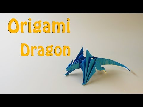 🔴Origami dragon🔴 - How to Make a Paper Dragon(51 Minutes)