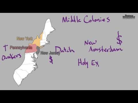 History Illustrated: The Middle Colonies