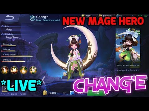 First Look at NEW MAGE HERO CHANGE   ADVANCE SERVER   MOBILE LEGENDS