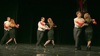 Школа танцев МАРТЭ 2011 - аргентинское танго начинающие