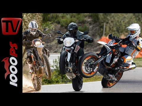 KTM 690 LC4 2014 | SMC-R, Duke, Enduro | Interaktives VIDEO