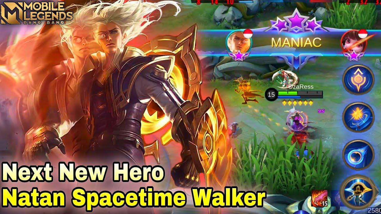 Download Next New Hero Natan Gameplay Mobile Legends Bang Bang
