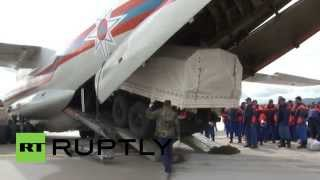 Russia: EMERCOM prepares for mission to Nepal earthquake zone