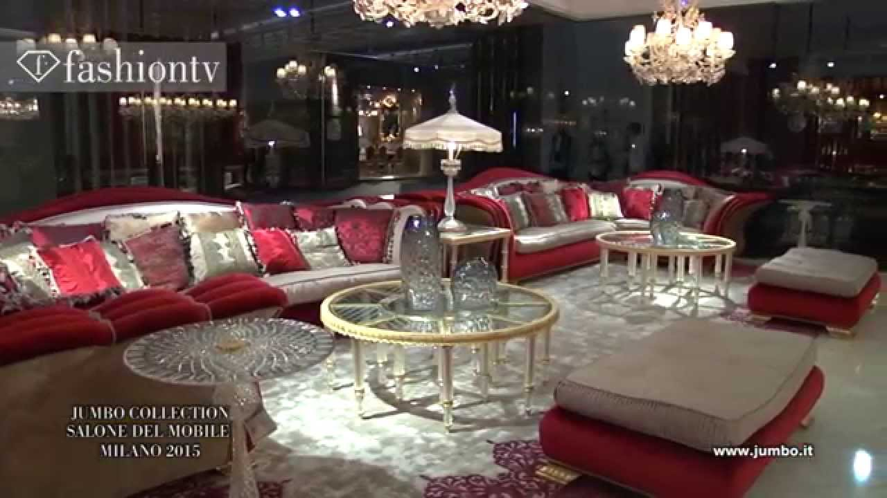 Jumbo collection luxurious furniture salone del mobile for Salone del mobile 3018