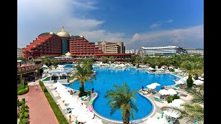 Delphin Palace Deluxe Collection 5 Дельфин Пелас Делюкс Анталия Турция обзор отеля