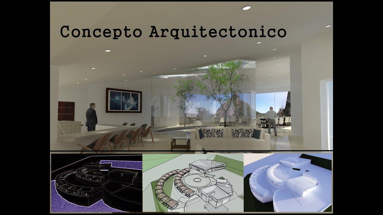 Concepto arquitectonico youtube for Conceptualizacion de la arquitectura