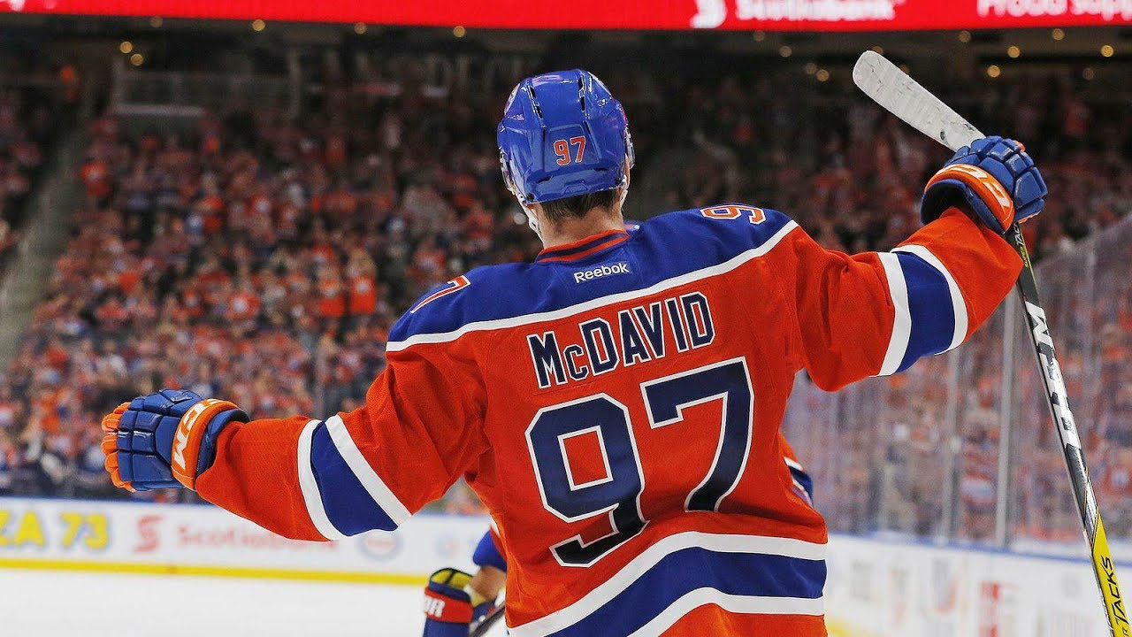Connor McDavid 2016 2017 Hart Ted Lindsay Art Ross