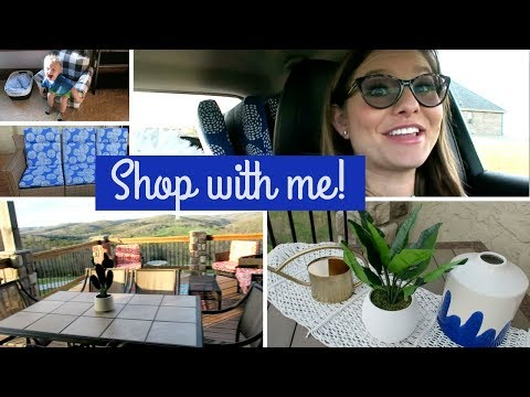 Shop and Decorate with Me | Outdoor Patio & New Rug
