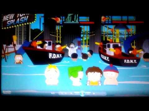South Park Pee In the pool