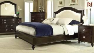 Portman Queen Panel Bed Upholstered With Slats 88801-02-03 By Standard Furniture