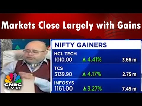 Closing Bell | Markets Close Largely with Gains; IT Stocks Take the Lead | CNBC TV18