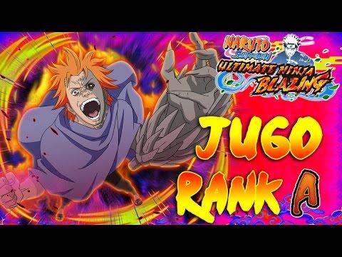 [FR] Naruto Blazing : JUGO RANK A | AVEC UNE SEUL UNITÉ !