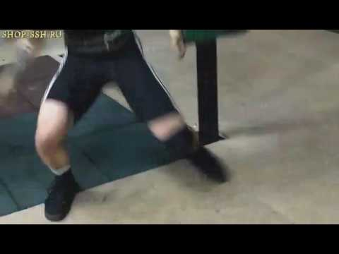 Когда штангу уронил на ногу