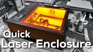 Ortur LASER Master 2 ENCLOSURE - Ultimate Diode Laser Setup