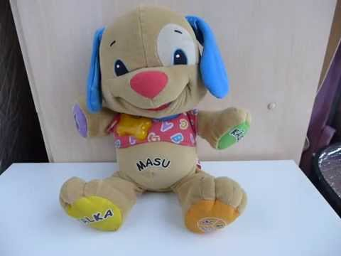 Fisher Price Laugh Learn Love To Play Puppy In Finnish Youtube