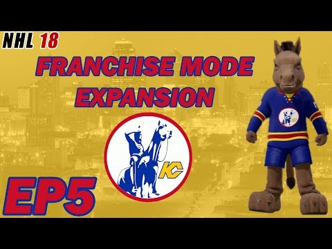 NHL 18: Kansas City Scouts Franchise Mode Expansion EP5 - Wholesale Changes at the Trade Deadline