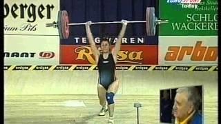 1998 European Weightlifting Women