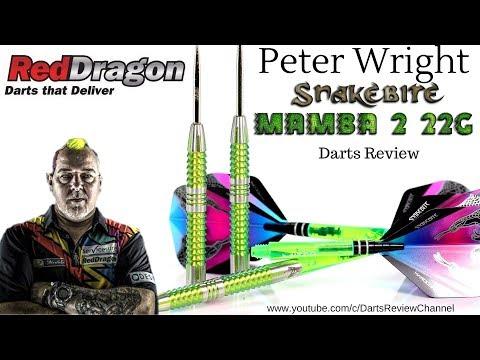 Red Dragon Peter Wright Mamba 2 22g darts review