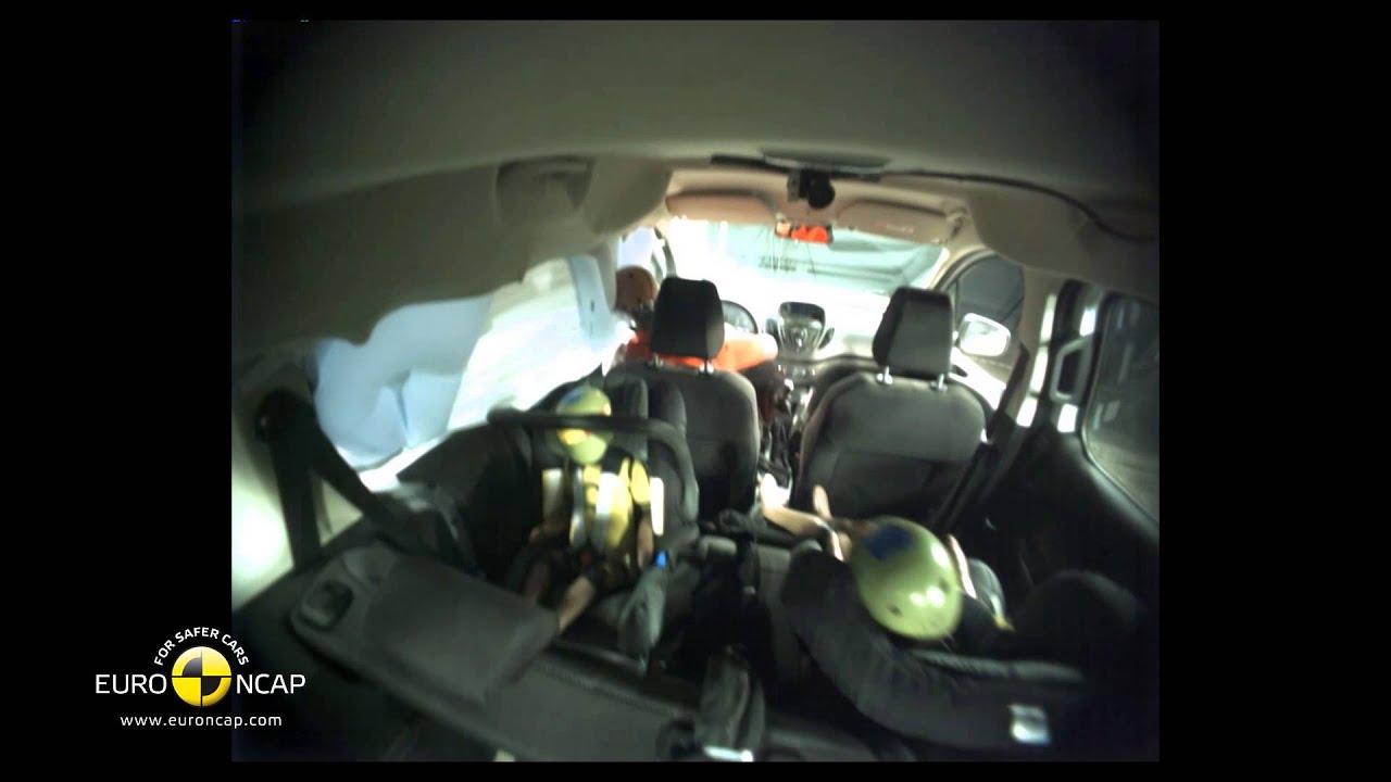 Ford Tourneo Courier Crash Test 2014 Ufc Que Choisir Youtube