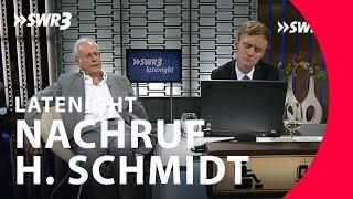 Nachruf von Harald Schmidt | Pierre M. Krause