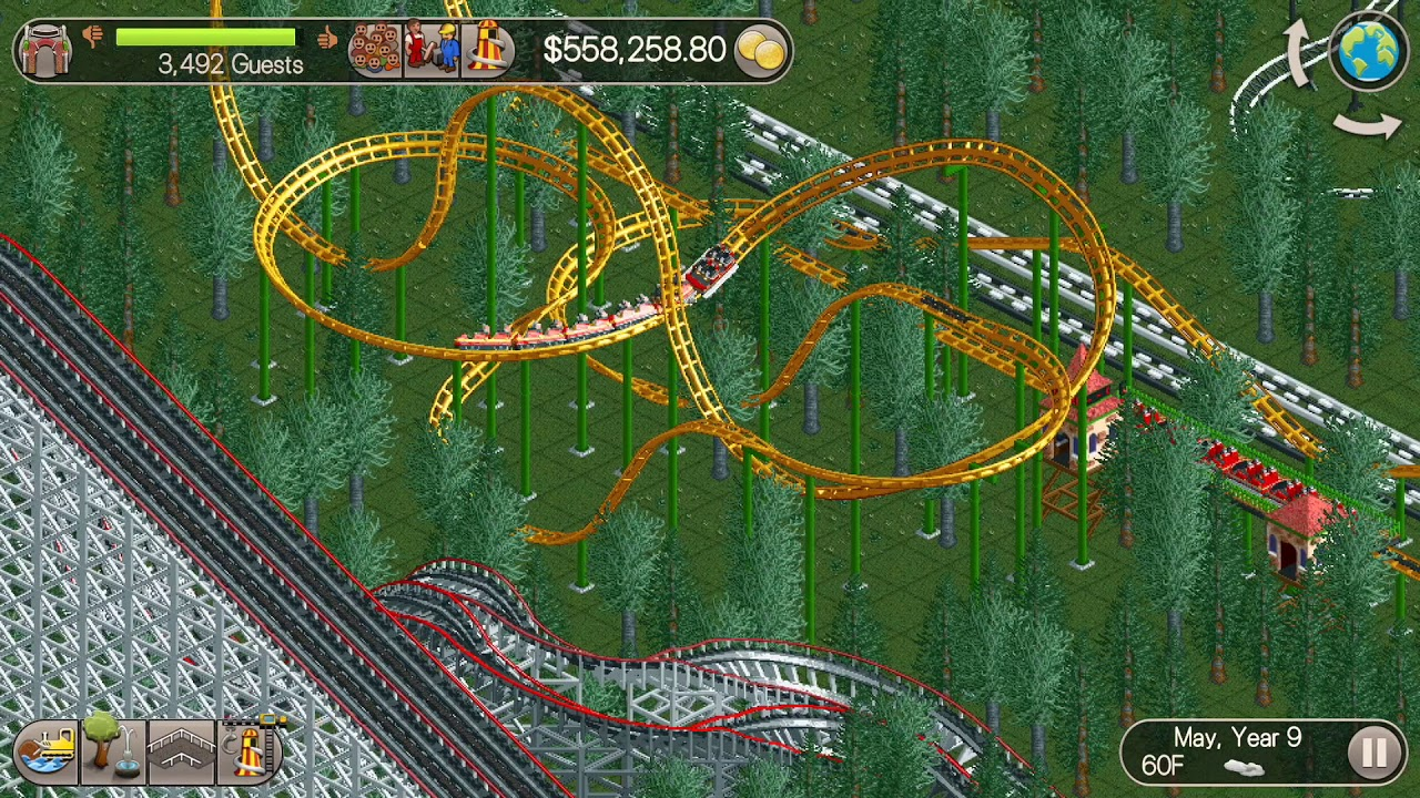 RCT Classic - Million Dollar Mission Ep  26 *LIM-Launched Roller Coaster*