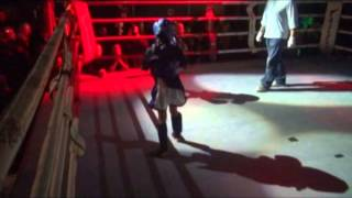 1 Anas Samhi vs Sabrine Samhi SHOW FIGHT  Christmas Blood   Fight Racism 2014