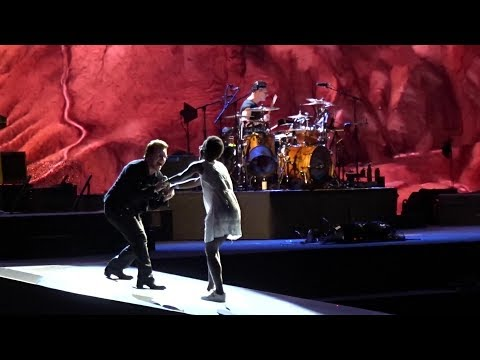 U2 - With or Without You 6/16/17 Joshua Tree Tour