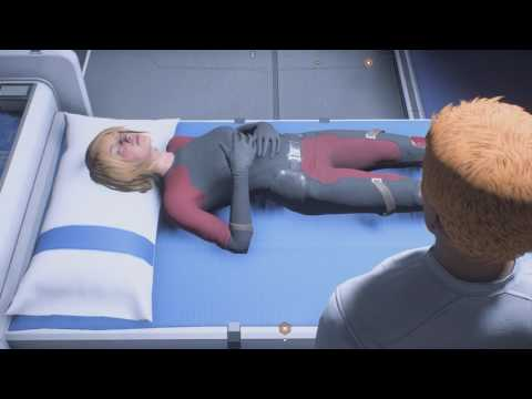 Mass Effect Andromeda Check On Your Twin at Cryogenics Bay After Planetside Mission |