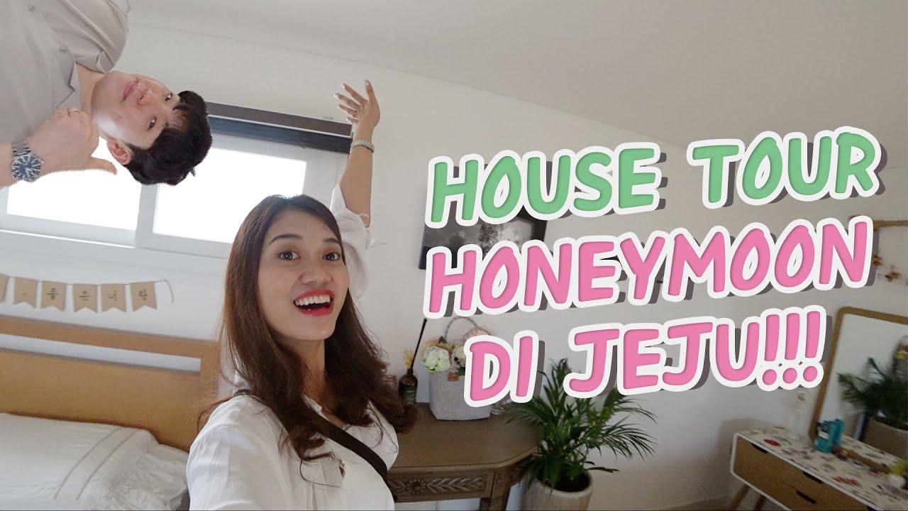 [VLOG KOREA] HOUSE TOUR Rumah HONEYMOON di JEJU!! 💜