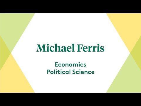 UVM: Michael Ferris, Economics and Political Science Double Major