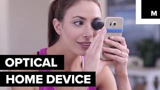 iPhone device for eyesight test