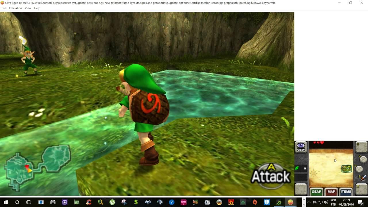 [3DS Emulator] Citra - The Legend Of Zelda - Ocarina Of Time 3D 1080p 60 FPS
