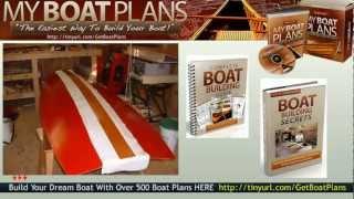 Classic Boat Plans - Classic Mahogany Boat Plans