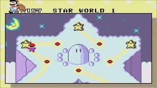 Super Mario World: Super Mario Advance 2 (GBA) - Star World 1 - Normal Exit (Gameplay/Walkthrough)