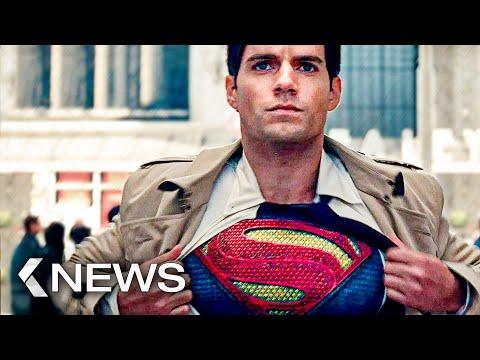 Superman Vs Black Adam, Bourne 6, Avatar 2... KinoCheck News