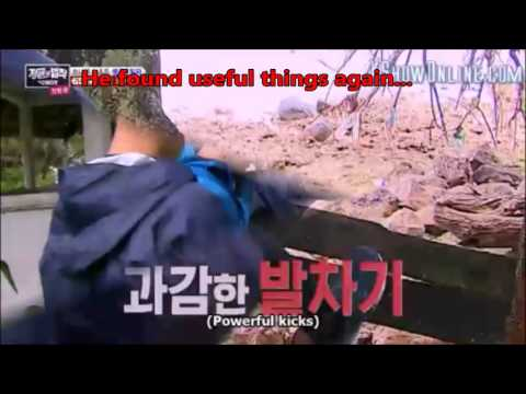 Sung Jae Weirdness In LAW OF THE JUNGLE